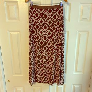 Brown Maxi Skirt Size Small